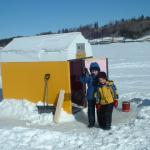 Ice Fishing With Terry