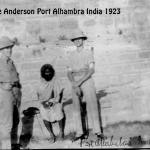 george anderson india 1923