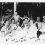 George & Dave3 Anderson's families (less Betty) circa 1955-56 @ Petawawa