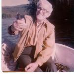 George Anderson with fish