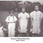 margaret malcolm helen betty 1944