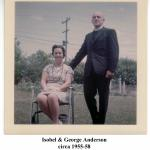 Isobel & George Anderson 1950s