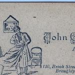 Gaffney, John (grandpa) calling card   abt. 1905-06 Scotland